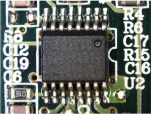 鉛フリーはんだにて実装された電子部品