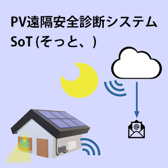 PV遠隔安全診断システム そっと、