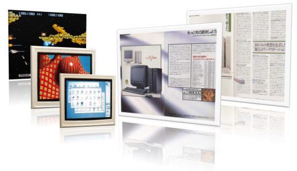 SHARP製X68000製品カタログ・イメージ