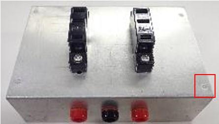 アルミ製の測定用治具
