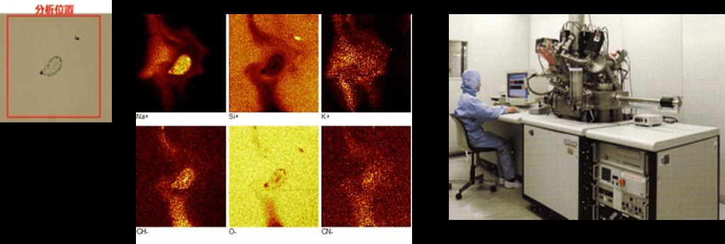 表面汚染分析(TOF-SIMS)